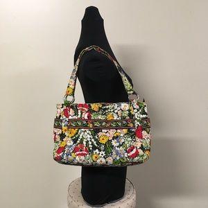 Vera Bradley Stephanie Purse Poppy Fields Bag